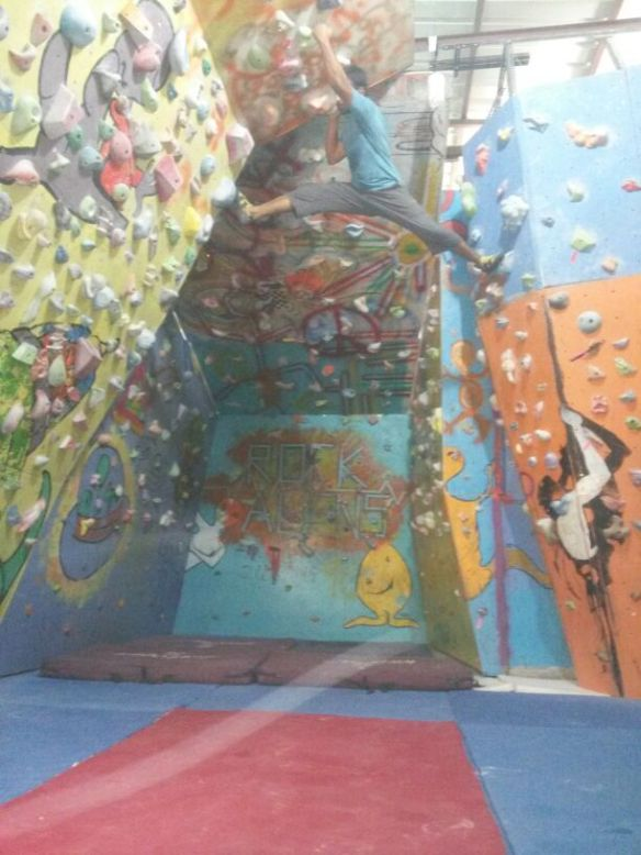 Rock Alien Bouldering Gym In Pune